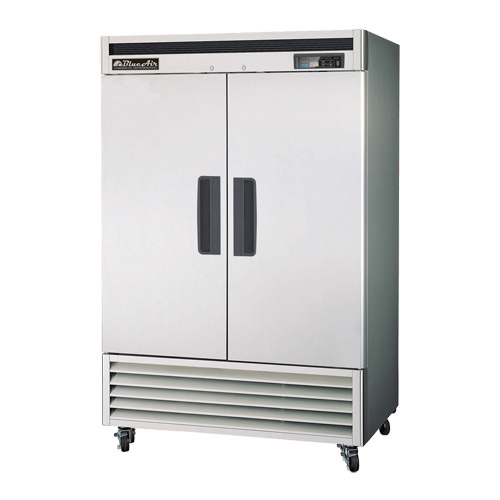 BLUE AIR 2 DOOR REACH IN REFRIGERATOR-BSR49