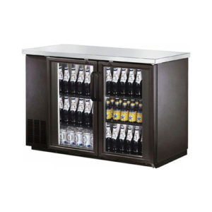 EFI 48″ 2 Glass Door Back Bar Refrigerator
