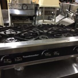 Toastmaster 6 Burner Gas Hot Plate
