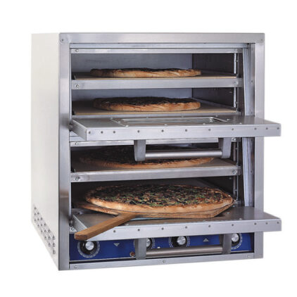 Bakers Pride Countertop Electric Deck Pizza Oven Inside Example