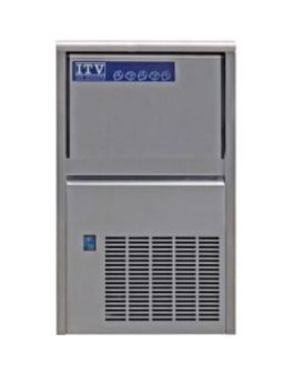 ITV NDP 55 44lb Capacity Countertop Ice Maker Front 2