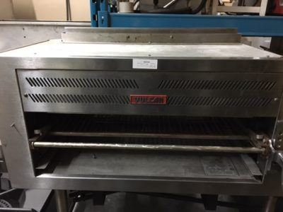 Vulcan Heavy Duty 36″ Radiant Broiler / Salamander Front Grill Front 2
