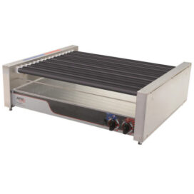 APW Wyott Non-Stick Hot Dog Roller Grill