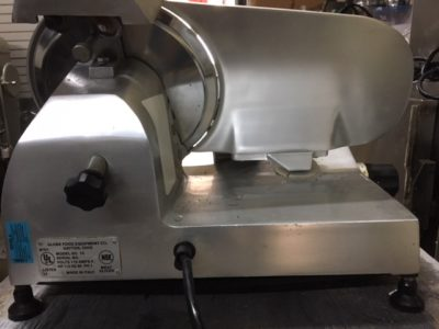 Globe GC10 Manual Meat Slicer Side 3