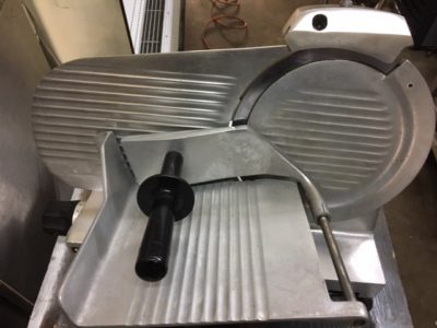 Globe GC10 Manual Meat Slicer Side 2