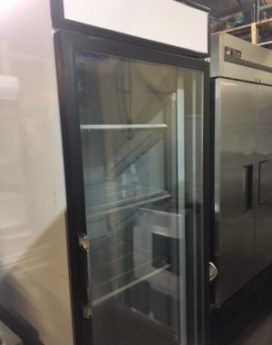 Patriot Single Door Display Refrigerator