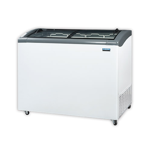 Ojeda NB-51 Glass Top Ice Cream Freezer