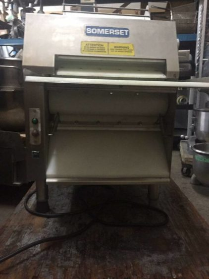The Somerset CDR-1550 Dough Sheeter Vancouver Front 2