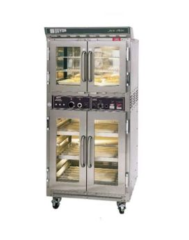 Doyon JAOP3 Double Deck Jet Air Electric Oven Proofer Combo Front 2