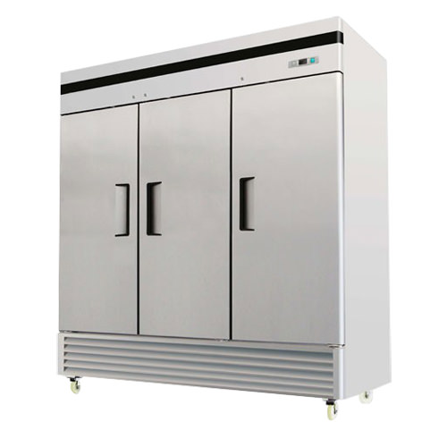 EFI C3-82VC 82″ Three Door Solid Reach In Refrigerator