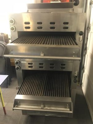 Garland Infra Red Natural Gas Double Charbroiler