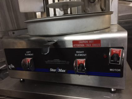 Star Max VBE30 Vertical Broiler Machine Info Switch